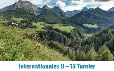 Internationales U13-Turnier in Scuol